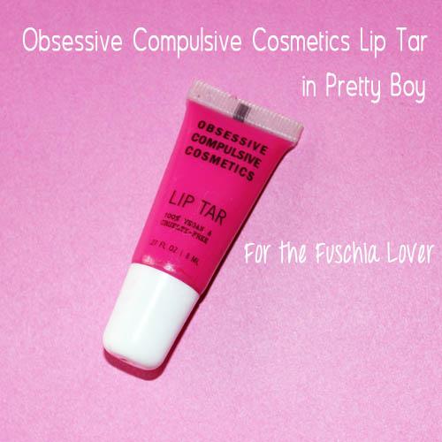 Obsessive compulsive cosmetics lips tar in pretty boy