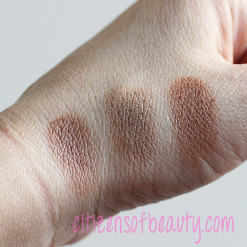 Anastasia Beverly Hills Contouring Kit dark shade swatches