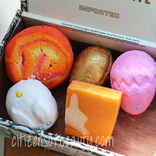 Lush Cosmetics Cruelty Free Limited Edition Easter Range Collection