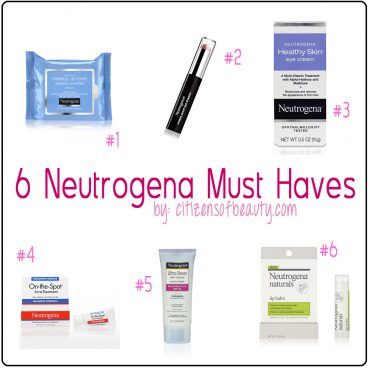 5 Neutrogena Must have items from Walmart.