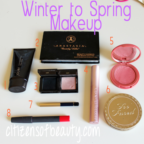 winter makeup that works for spring as well