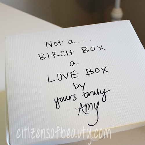 birchbox knock off DIY: Personalized Gift Idea