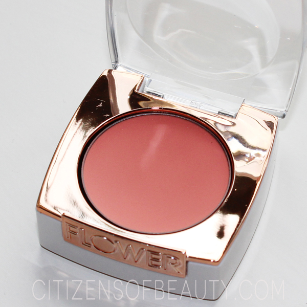 Review of Flower Beauty by Drew Barrymore cream peach cream blush
