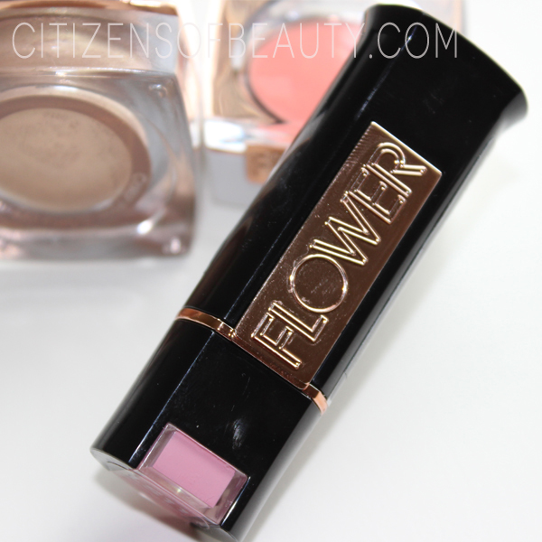 Flower Beauty Morning Glory Lipstick Review High End Cosmetics at a Walmart Price: Flower Beauty By Drew Barrymore (Review and Swatches)