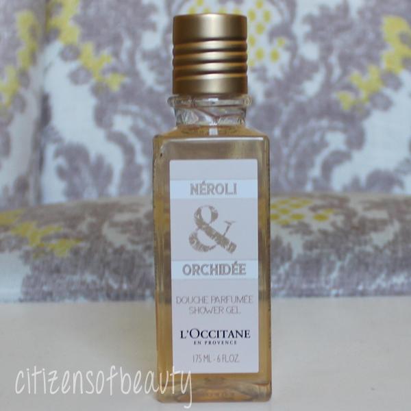 L'Occitane Neroli & Orchid bath gel review