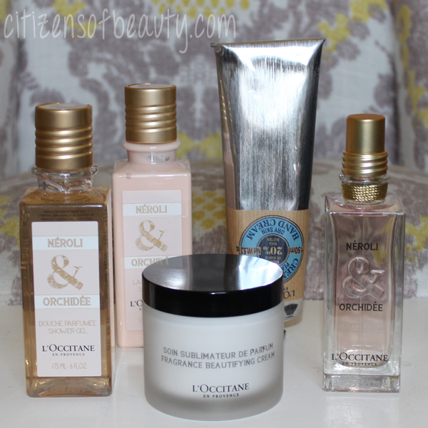 Review of L'Occitane beauty and fragrance products.