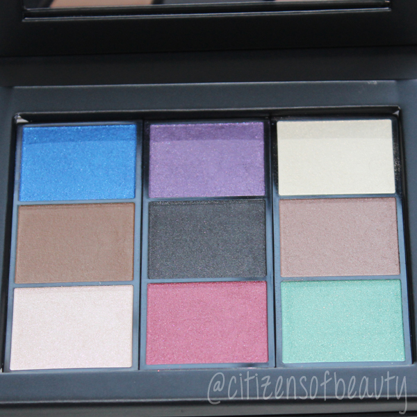 Shiseido eye color bar review and swatches
