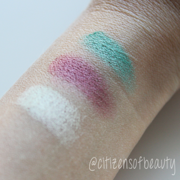 Shiseido Eye Color Bar Swatches Review