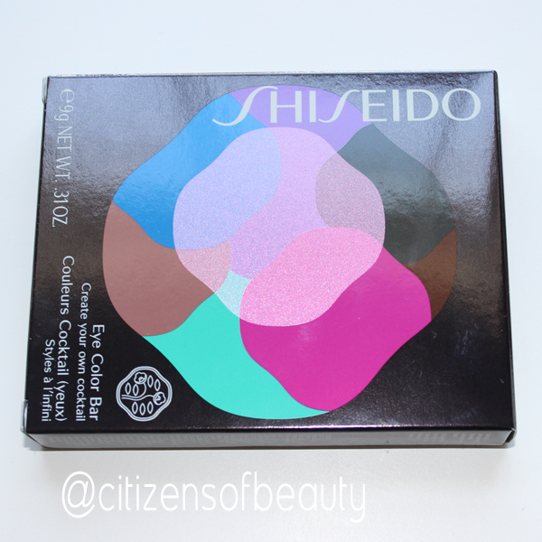 Shiseido beauty eyeshadow eye color bar review Gorgeous Spring 2014 Limited Edition Shiseido Eye Color Bar (Review + Eye Designs)