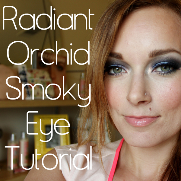 2014 Pantone color of the year Smoky Eye Youtube Tutorial