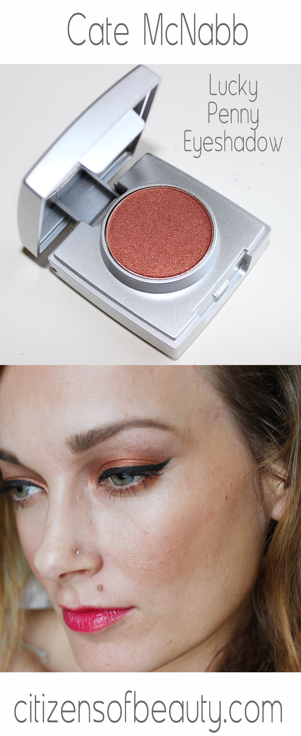 Cate McNabb Lucky Penny eyeshadow Review