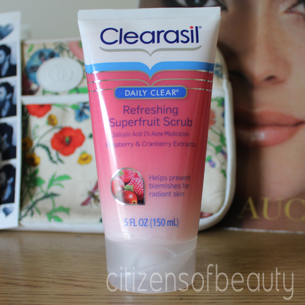 Clearasil Daily Clear Refreshing Superfruit Scrub Clearasil Daily Clear Refreshing Superfruit Scrub Review