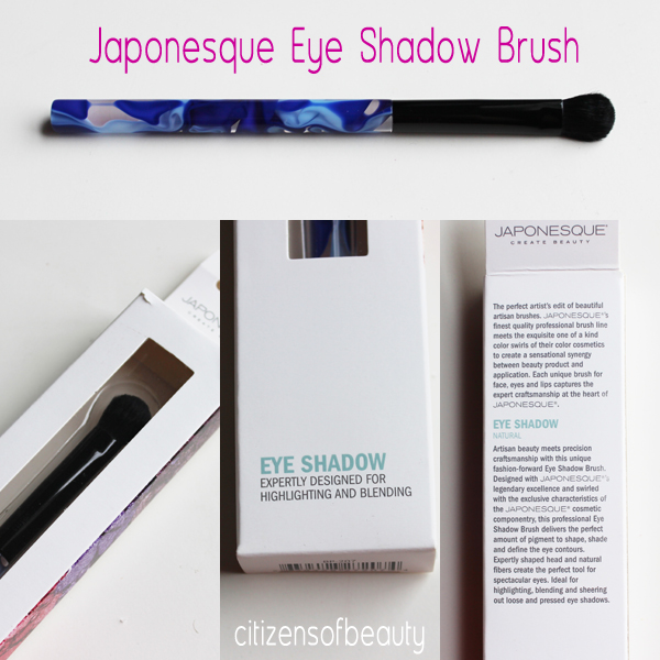 Japonesque Eye crease Reiew