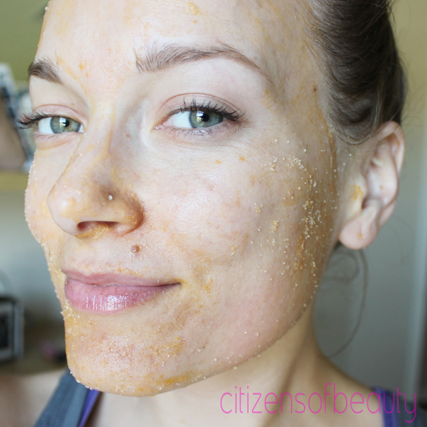 papaya enzyme mask and scrub DIY Papaya Enzyme Moisturizing Mask and Scrub