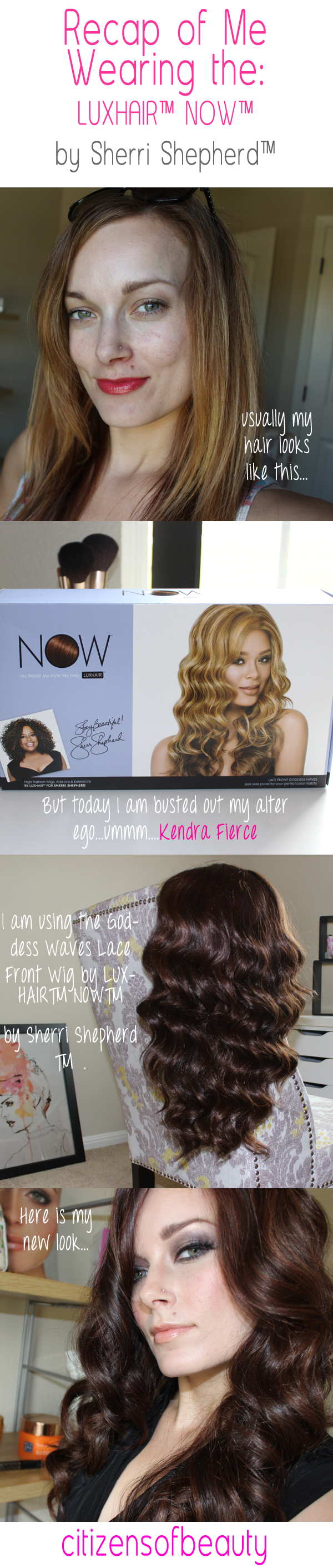 review of the LUXHAIR™ NOW™   by Sherri Shepherd™ Goddess Waves