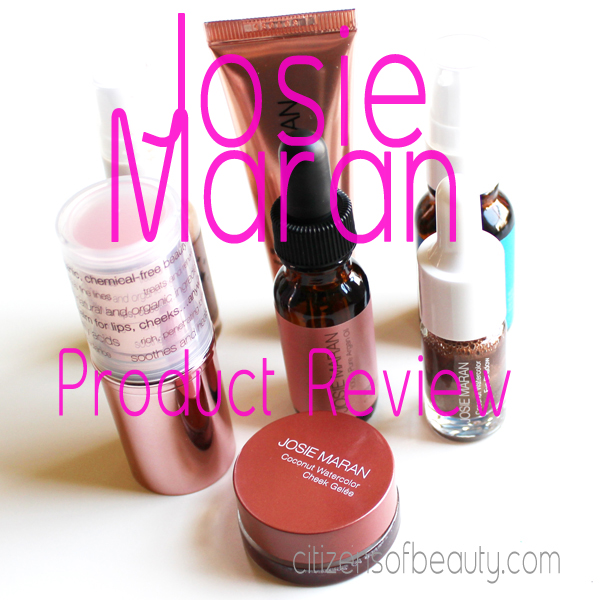 Josie Maran Product Review