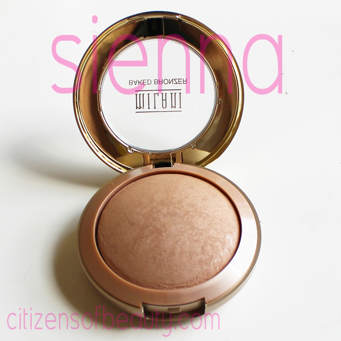 Milani Baked Bronzer Review Sienna