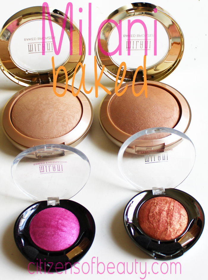 Milani Baked Cosmetics Review