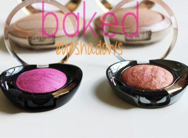 Milani Baked Eyeshadow Review