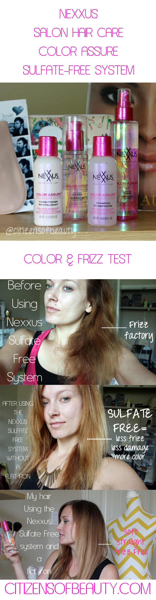 Nexxus Color Assure SulfateFree Hair Care System Review