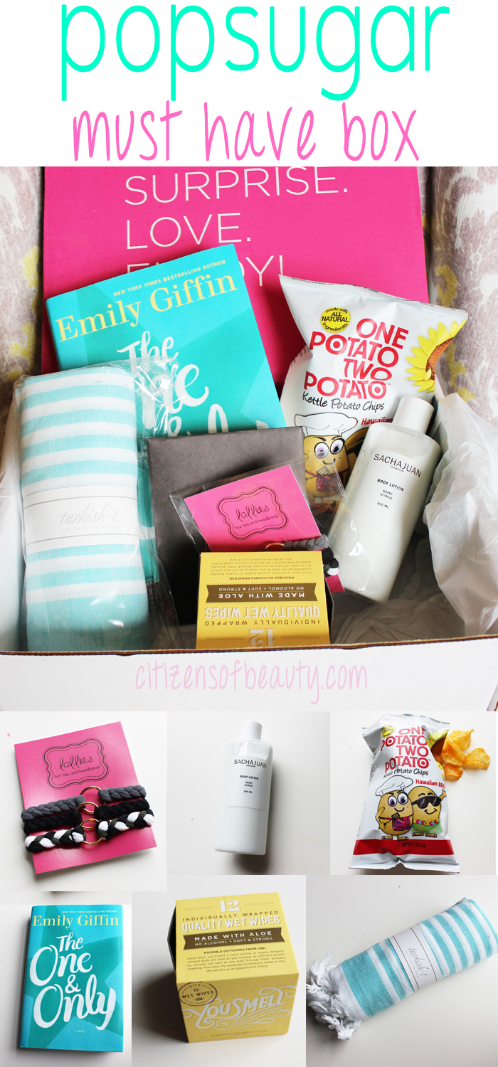 POPSUGAR Must Have Box Review [June 2014]