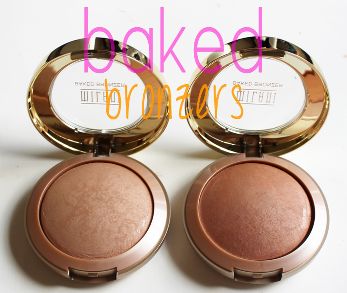 milani baked bronzers