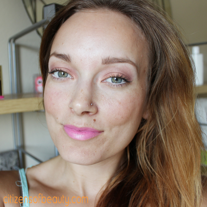 milani Baked makeup look