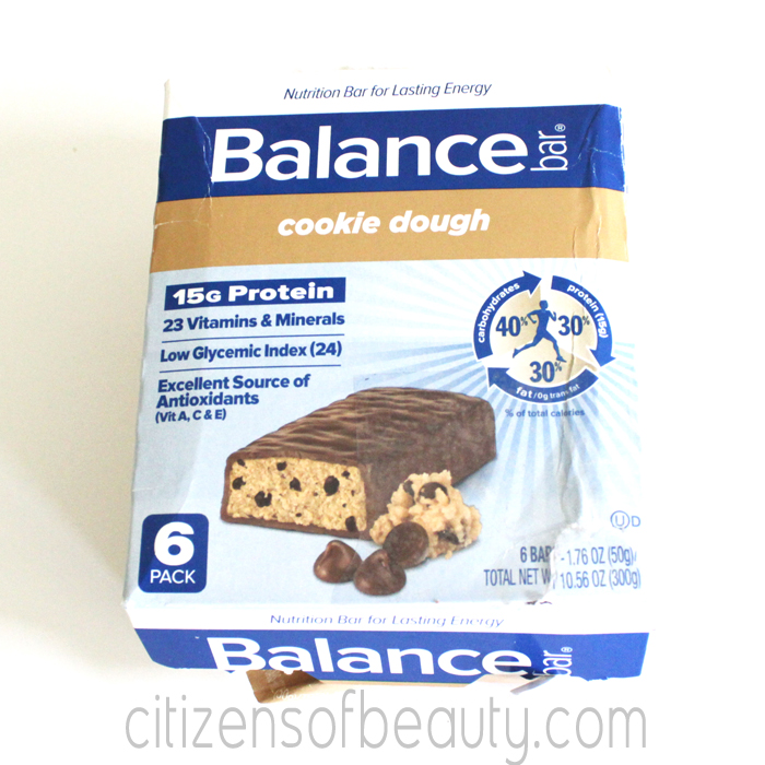 Balance Bar Cookie Dough Review1 Balance Bar Shape Up Challenge + Giveaway!