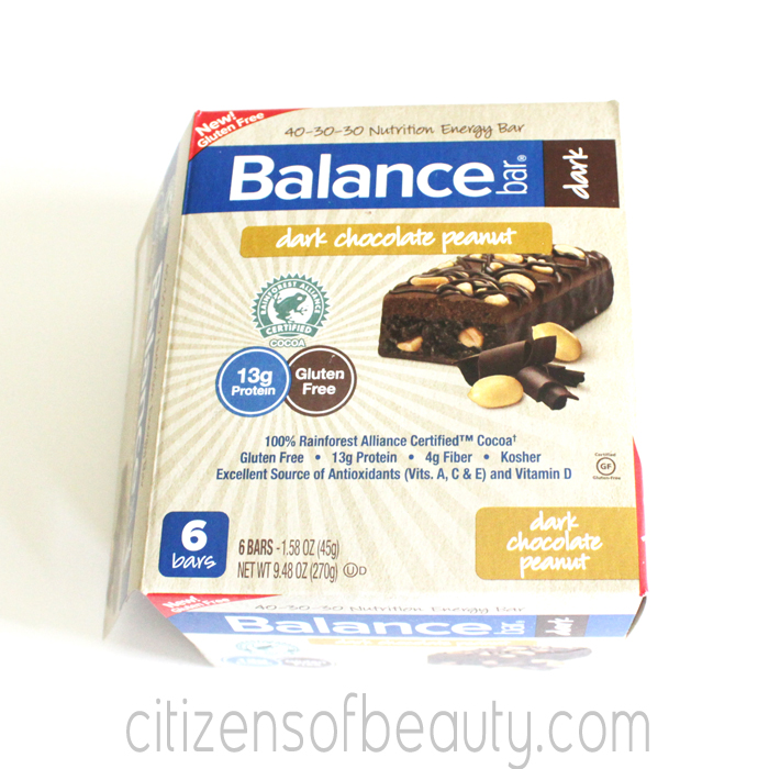 Balance Bar Dark Chocolate Peanut Balance Bar Shape Up Challenge + Giveaway!