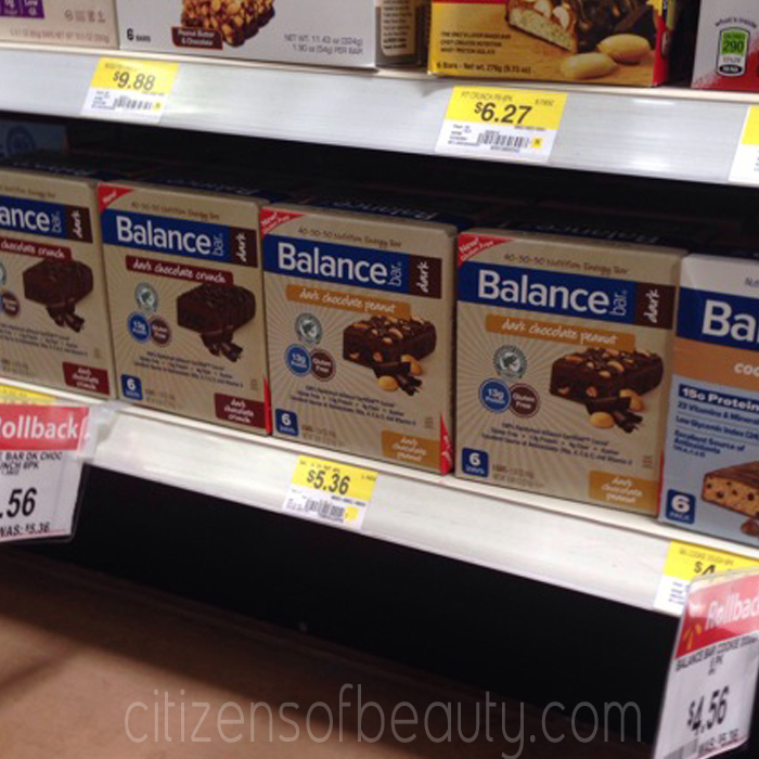 Balance Bar Summer Shape Up Walmart