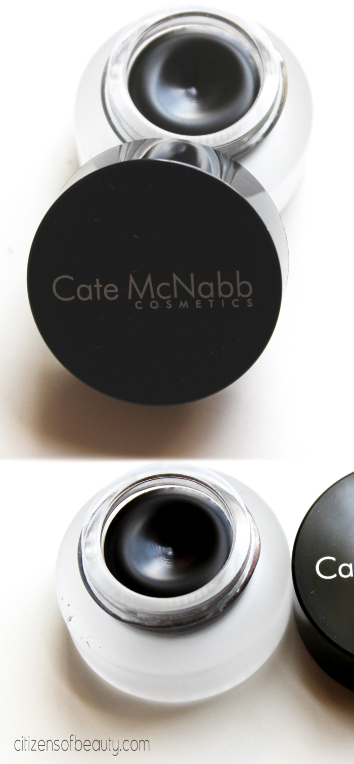Cate McNabb Gel Eyeliner Review and Swatches Cate McNabb Gel Liner Review
