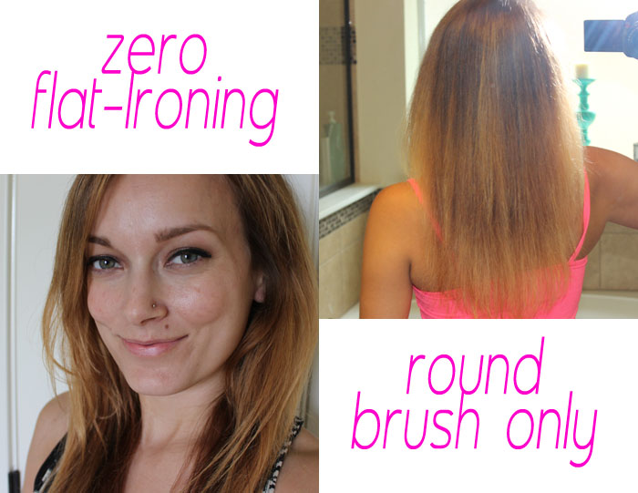 How to use a round brush 2