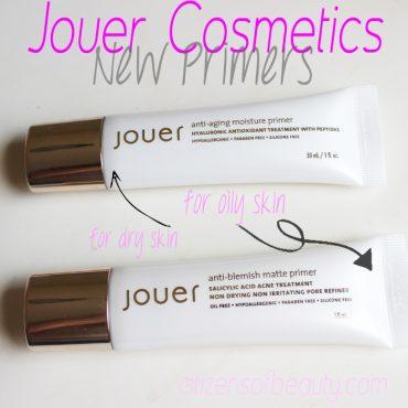 Jouer Cosmetics Face Primers Review