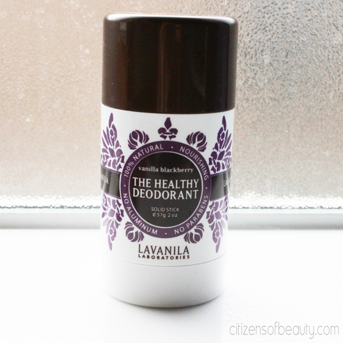 LaVanila Deoderant Review Purse Worthy Beauty Basics