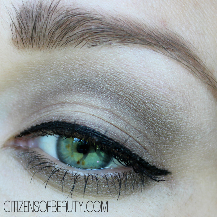 Natural eye makeup using Purminerals Galaxy Ascending