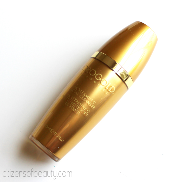 Orogold Comsetics 24k Cleanser Review1 Orogold Luxury Skincare Review