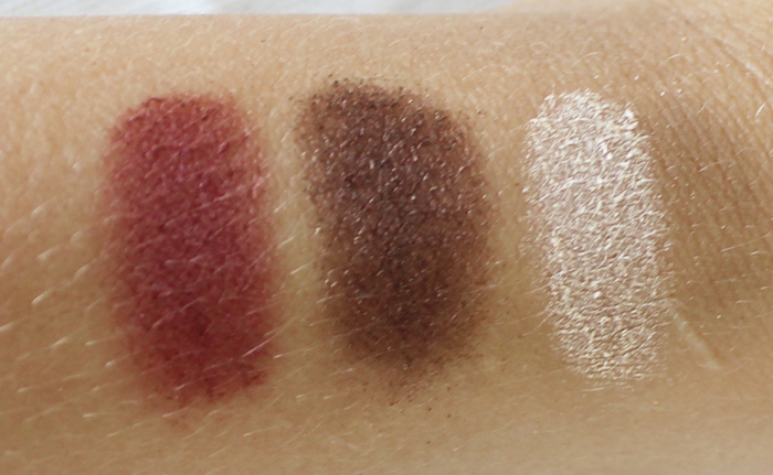 Purminerals Galaxy Ascending Swatches 1 Pur Minerals Jupiter Palette Review