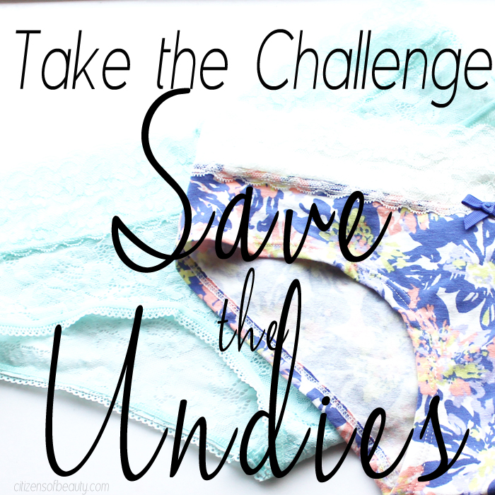 Save the Undies U by Kotex Save the Undies with U by Kotex®