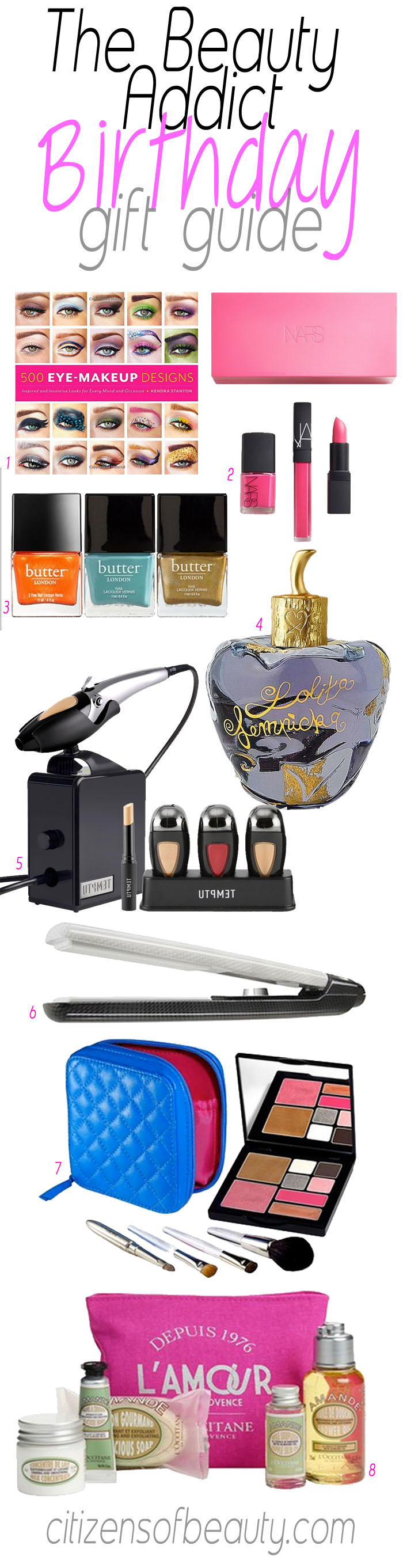 The Beauty Addict Birthday Gift Guide for Her