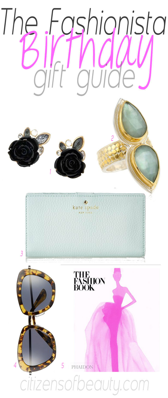 The Fashionista Birthday Gift Guide for Her