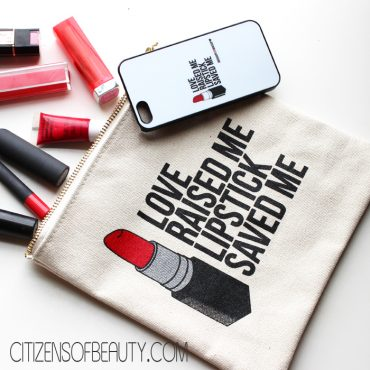 breakups to makeup love raised me lipstick saved me cosmetic bag