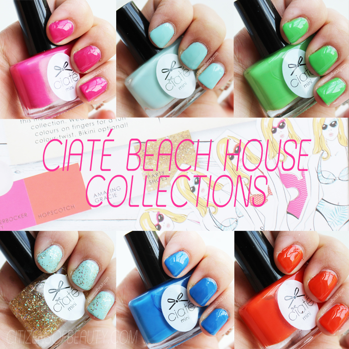 ciate beach house collection Review with color swatches and more with beauty and lifestyle blogger, Kendra Stanton