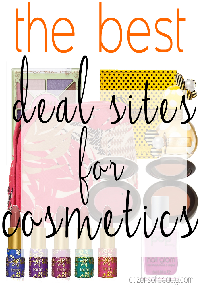 the best deal sites for cosmetics online