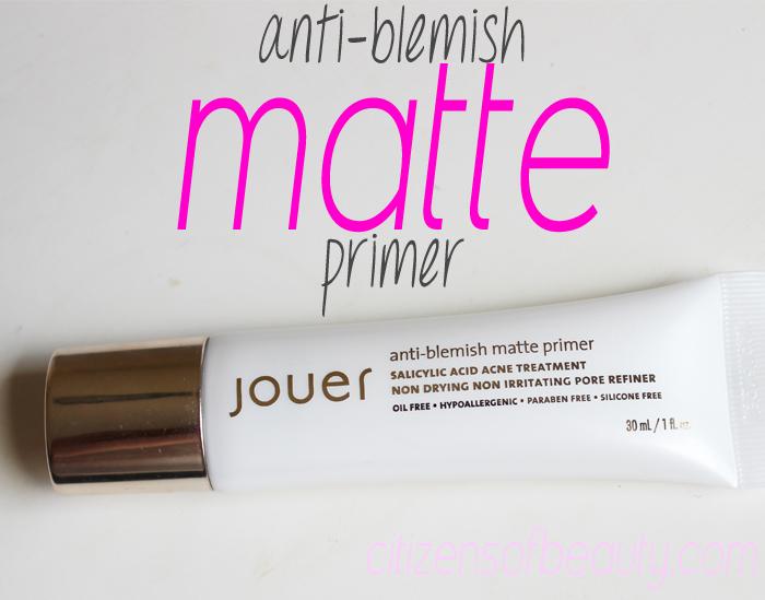 Jouer Cosmetics matte face primer