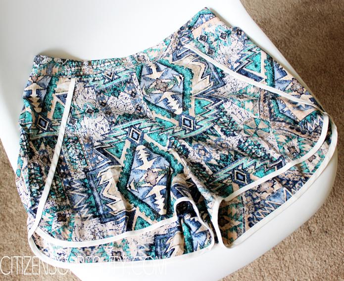 silk shorts style