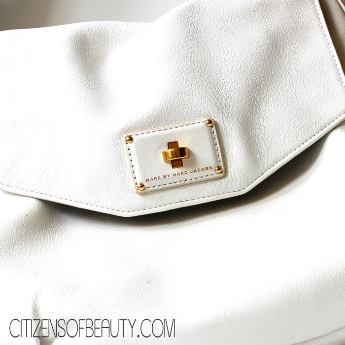 white Marc by Marc Jacobs bag