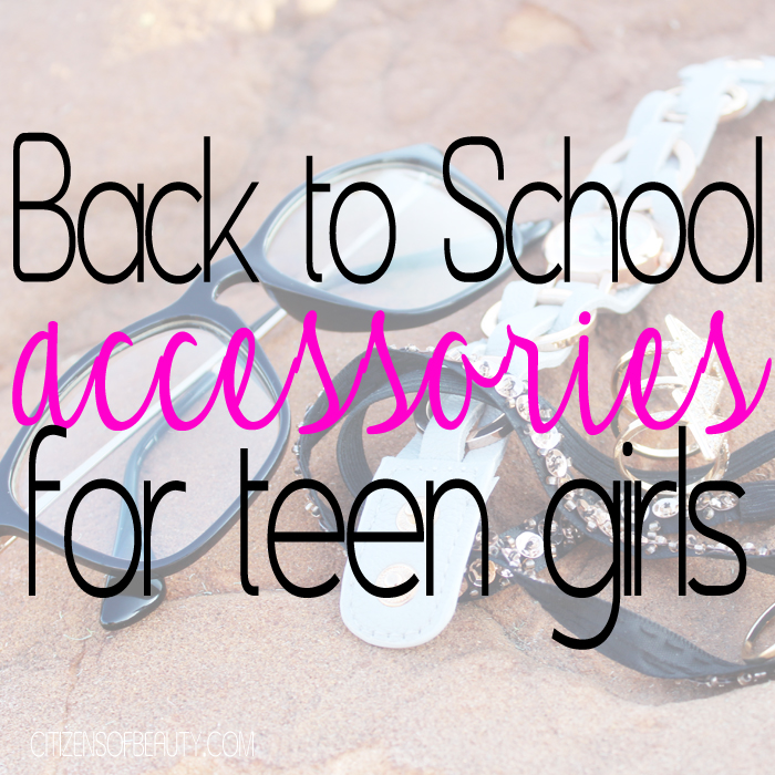 back to school accessories for trendy teen girls