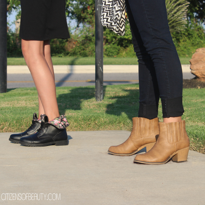 back to school booties for teen girls.