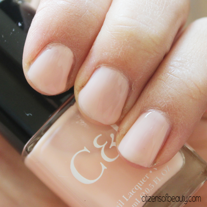 Alibaster from Crabtree & Evelyns Nudest Nail Polish Collection is a pretty little thing. via @citizenofbeauty