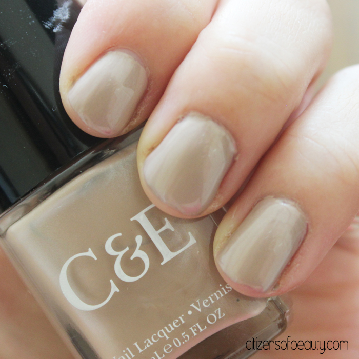 Crabtree & Evelyn Nail Polish in Almond from the Nudest Collection. Via @citizenofbeauty